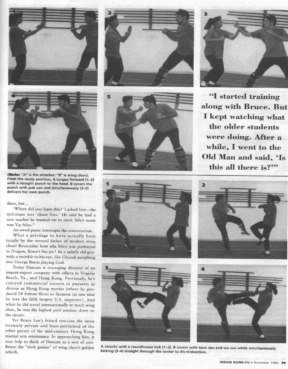 Inside Kung Fu November 1995 page 2